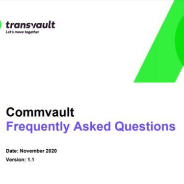 Comvault email archive migration FAQ