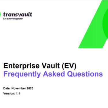 Enterprise Vault email archive migration FAQ