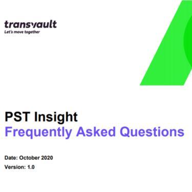 PST migration FAQ