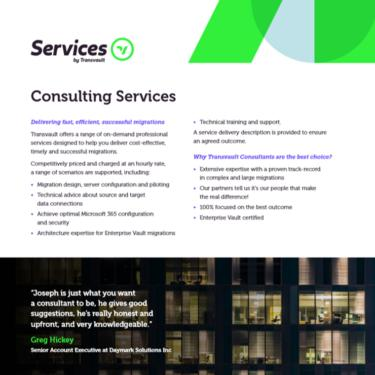Image of Transvault Consulting Services