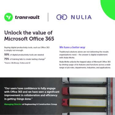 Image of Transvault Nulia Works Datasheet