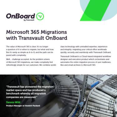 Image of Transvault OnBoard Datasheet