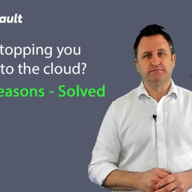 what's stopping you moving to the cloud