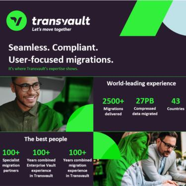 Image to show Why Transvault Infographic