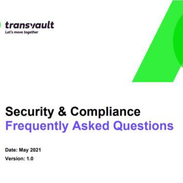 Security & Compliance FAQ Image