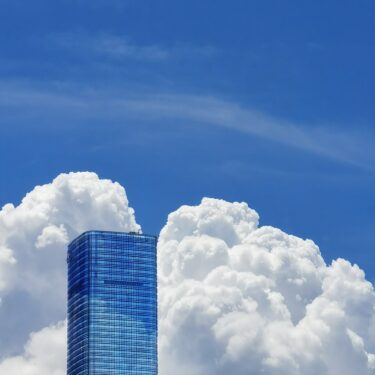 skyscraper bank migrating to Cloud